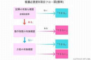 看護必要度B項目の概要図