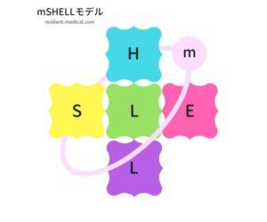 mSHELL分析モデルを解説した図