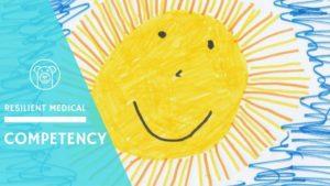 子供が描いた太陽の絵